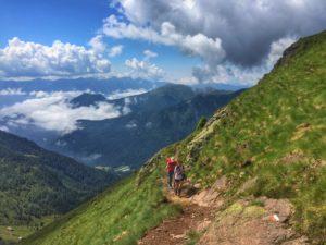 Trekking al Passo Manghen